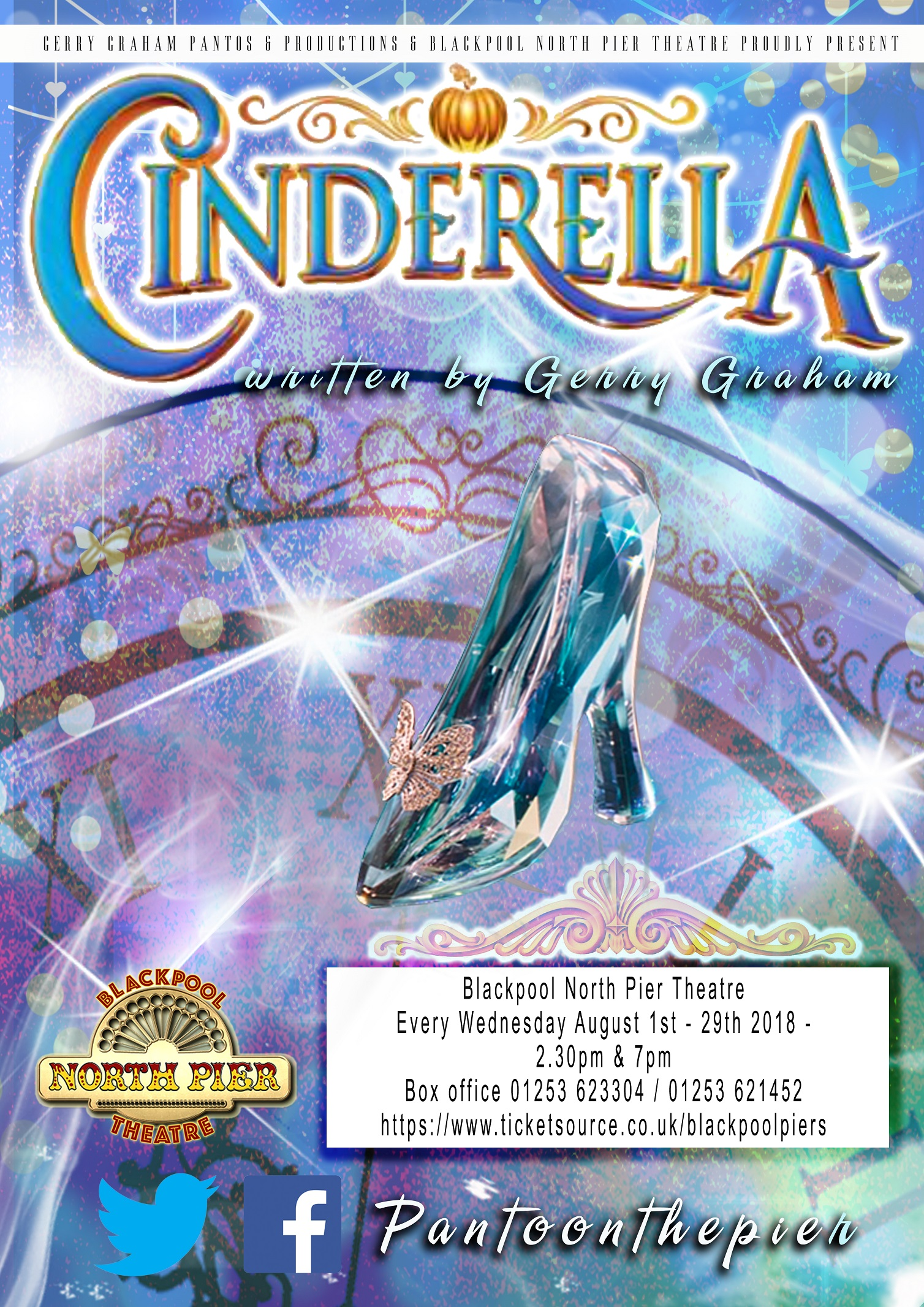 Cinderella Summer pantomime at blackpool north pier